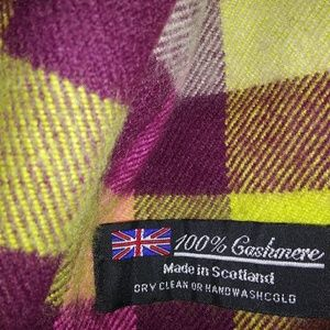 Accessories - 100% Cashmere Scarf from Scotland